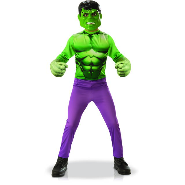 MARVEL - Panoplie Hulk + Gants Géants - M - pas cher Achat   Vente ... e724046cc21e