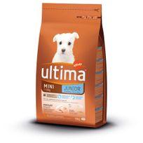Ultima - Croquettes Mini 1-10 Junior au Poulet pour Chiot - 1,5Kg