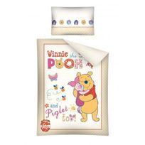 Winnie L'OURSON - Parure de lit bébé Pig