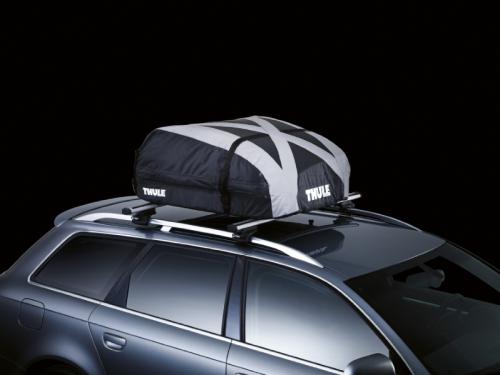 thule coffre de toit pliable ranger 90 280 litres noir. Black Bedroom Furniture Sets. Home Design Ideas