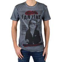 Eleven Paris - T-shirt Fanzine 2 Gris