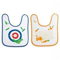 Donkey Products - Bavoir cible et Bavoir bingo : 2 jolis cadeaux pour bébé