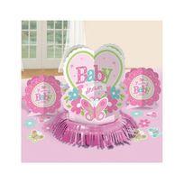 Amscan - Décorations de table Baby shower fille