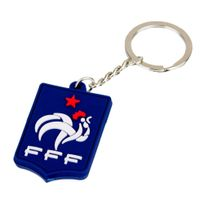 Federation Francaise De Football - Fff - Supporter Equipe de France Football - Porte-Clés Bleu