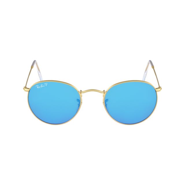 Ray-Ban - Ray Ban - Round Metal Rb3447 112 4L Or mat - Lunettes de ... ff1d7953ef75