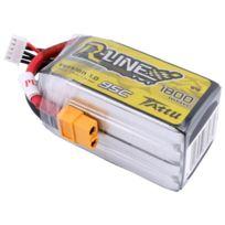 TATTU - Batterie lipo R-Line 4S 14.8V 1800mAh 95C prise XT60