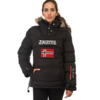 Geographical Norway - Parka Doudoune femme Bolide noir Géographical Norway