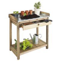 Dedans Dehors - Table de prparation avec tiroir