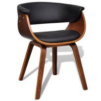 Chaise cuir noir salle manger achat chaise cuir noir - Chaise cuir noir salle manger ...
