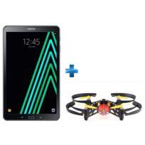 Samsung - Galaxy Tab A6 - 10,1'' - 16 Go - Noir + Minidrone Parrot avec lumières