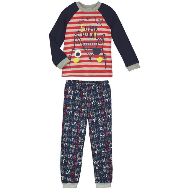 973f729c7b6d7 Petit Beguin - Pyjama garçon manches longues Super pirate - Taille - 10 ans  140 cm Multicolore - pas cher Achat   Vente Pyjamas - RueDuCommerce