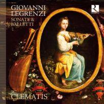 Ricercar - Giovanni Legrenzi - Sonates et ballets DigiPack