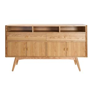 Miliboo buffet design 4 portes fr ne nordeco l72xp30 for Miliboo buffet