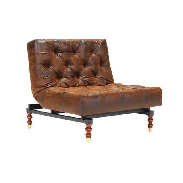 inside 75 - innovation living fauteuil lit design old school vintage