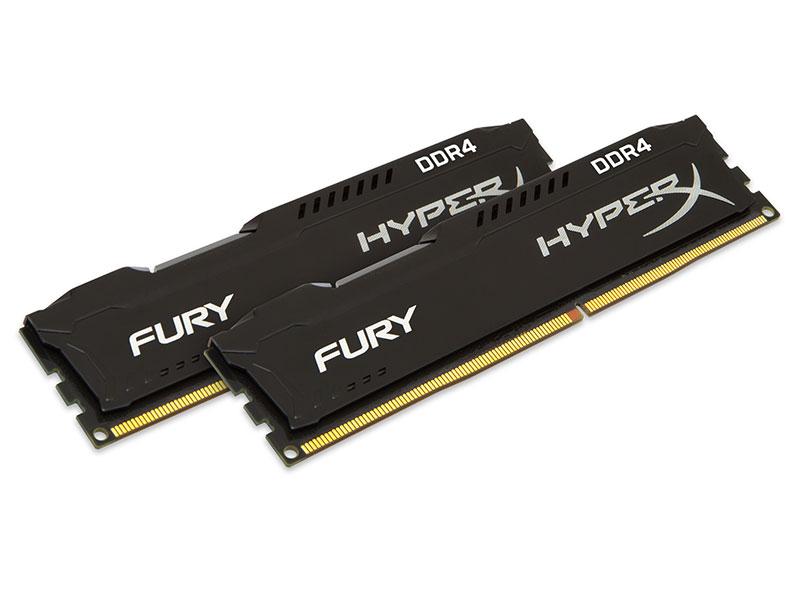 HyperX Fury Black Series 16 Go 2 x 8 Go DDR4 2666MHz Cas 15