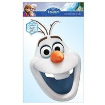 Mask-arade - Masque en carton Olaf La Reine des Neiges Frozen