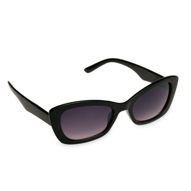 Lamodeuse - Lunettes de soleil Essential Papillon Noir - pas cher ... 6cb366b9ad9d