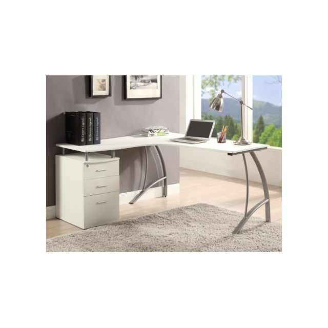 bureau d angle pas cher simple bureau dangle tale with. Black Bedroom Furniture Sets. Home Design Ideas