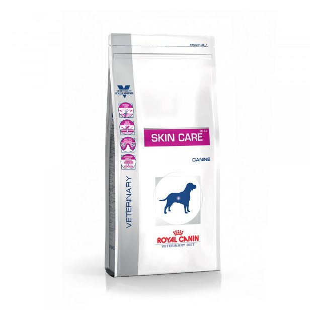 Royal Canin Croquettes Veterinary Diet Skin Care pour chiens Sac 8 kg