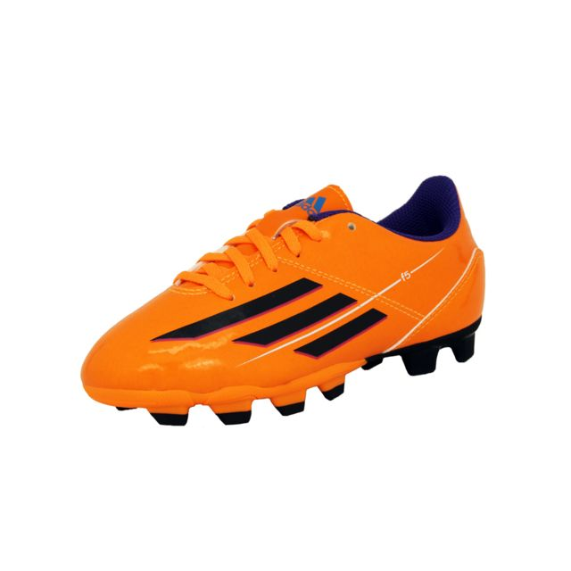 Adidas F5 Trx Fg J Chaussures Football Enfant Orange Gris
