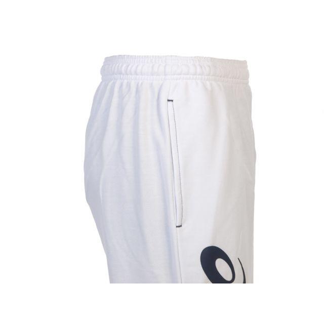 Asics - Pantalon de survêtement Sigma blc/nvy pant survet Blanc 62565