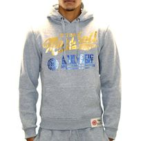 Us Marshall - Sweat à Capuche - Homme - Hs09 - Gris Or
