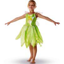 Rubies - Déguisement enfant de la Fée Clochette - Disney© - Taille : 4/6 ans 102 à 114 cm