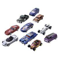 Mattel - Hot Wheels - Coffret 10 Voitures Hot Wheels