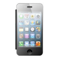 My way - Etui folio plexiglas et cuir pour Apple iPhone 4