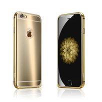 Cabling - Coque iPhone 6S/6 Plus effet Miroir Coloris or Etui Housse Bumper