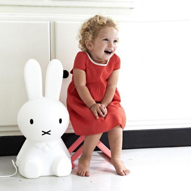 Mr Maria - Miffy - Lampe à poser lapin Blanc H50cm