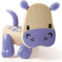 Hape Beleduc - Hape - E5537 - Figurine Animal - Hippopotame
