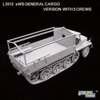 Great Wall Hobby - Grande Kit Hobby Mur ModÈLE - Schwere Wehrmachtschlepper Sws Halftrack - 3512