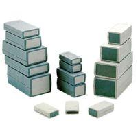 Standard Plastic Housings - Coffret En Plastique Moule - Gris Fonce 120 x 60 x 50mm