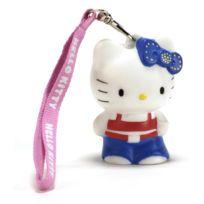 Teknofun - Kitty Hip Hop - Lampe Décoration Hello Kitty 8 cm + Dragonne