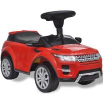 Rocambolesk - Superbe Voiture à pousser rouge avec musique pour enfant Land Rover 348 neuf