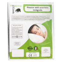 Pharmahousse - Housse anti-acariens intégrale pour matelas 1 personne – Qualité médicale
