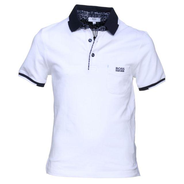 Hugo Boss - Polo Junior - Ref. J25C01-10BJ - pas cher Achat   Vente Polo  enfant - RueDuCommerce ac28e6e3c646