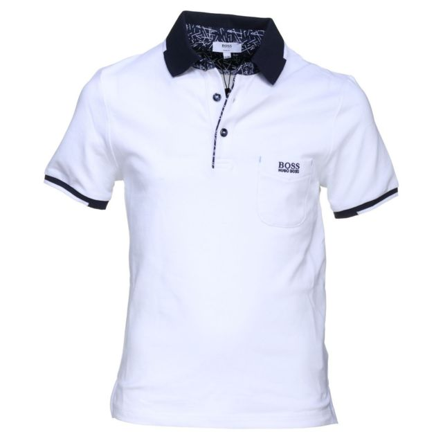 47f1e6296d1 Hugo Boss - Polo Junior - Ref. J25C01-10BJ - pas cher Achat   Vente Polo  enfant - RueDuCommerce