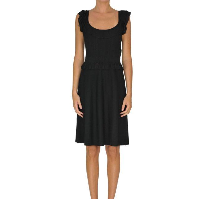 Paule Ka Femme Mcglvs00000B7090E Noir Viscose Robe