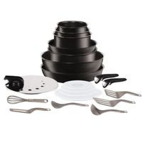Tefal - Ingenio Performance Batterie de cuisine 20 pieces L6549902 16-18-20-22-24-26-28cm Tous feux dont induction
