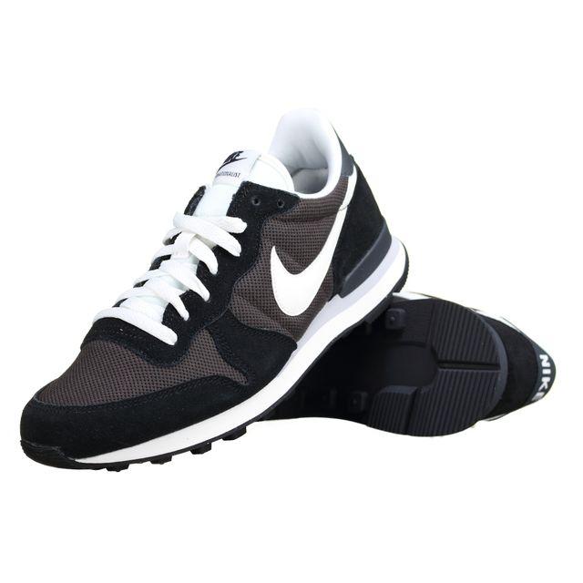 buy online 0e3df 2de2a Nike - Basket Internationalist 828041 - 201 Noir - pas cher Achat   Vente  Baskets homme - RueDuCommerce