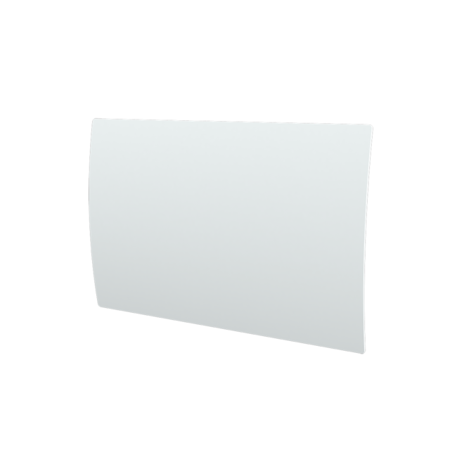 cayenne radiateur inertie en fonte verre blanc bomb. Black Bedroom Furniture Sets. Home Design Ideas