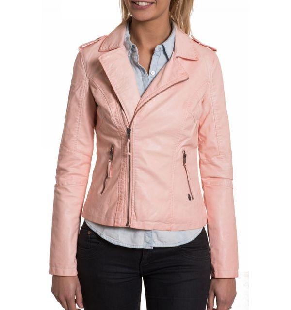 Veste kaporal femme rose