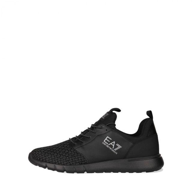 a2c290e80a7 Armani Ea7 - Basket Ea7 Neutra Sneaker - Ref. Neutracharcoal - pas cher  Achat   Vente Baskets femme - RueDuCommerce