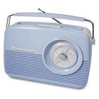 Roadstar - Tra-1957 Radio portable Blanc
