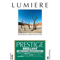 LUMIERE - Papier photo Prestige Brillant - 10x15cm