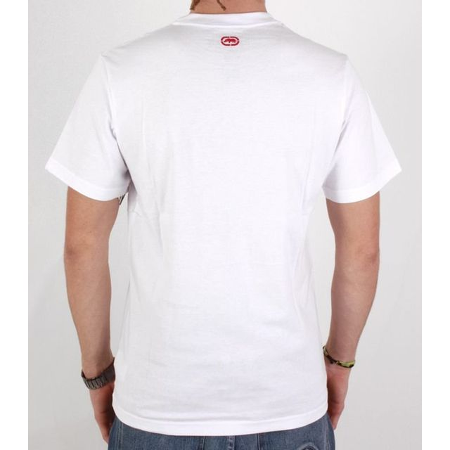 Ecko - Tshirt Spray it blanc