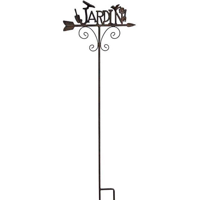 LA GRANDE PRAIRIE Direction jardin à planter en fonte 127 cm