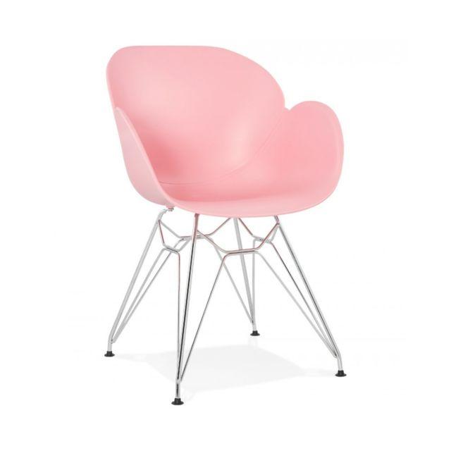 Kokoon Design Fauteuil design Chipie Pink 59x57,5x85 cm